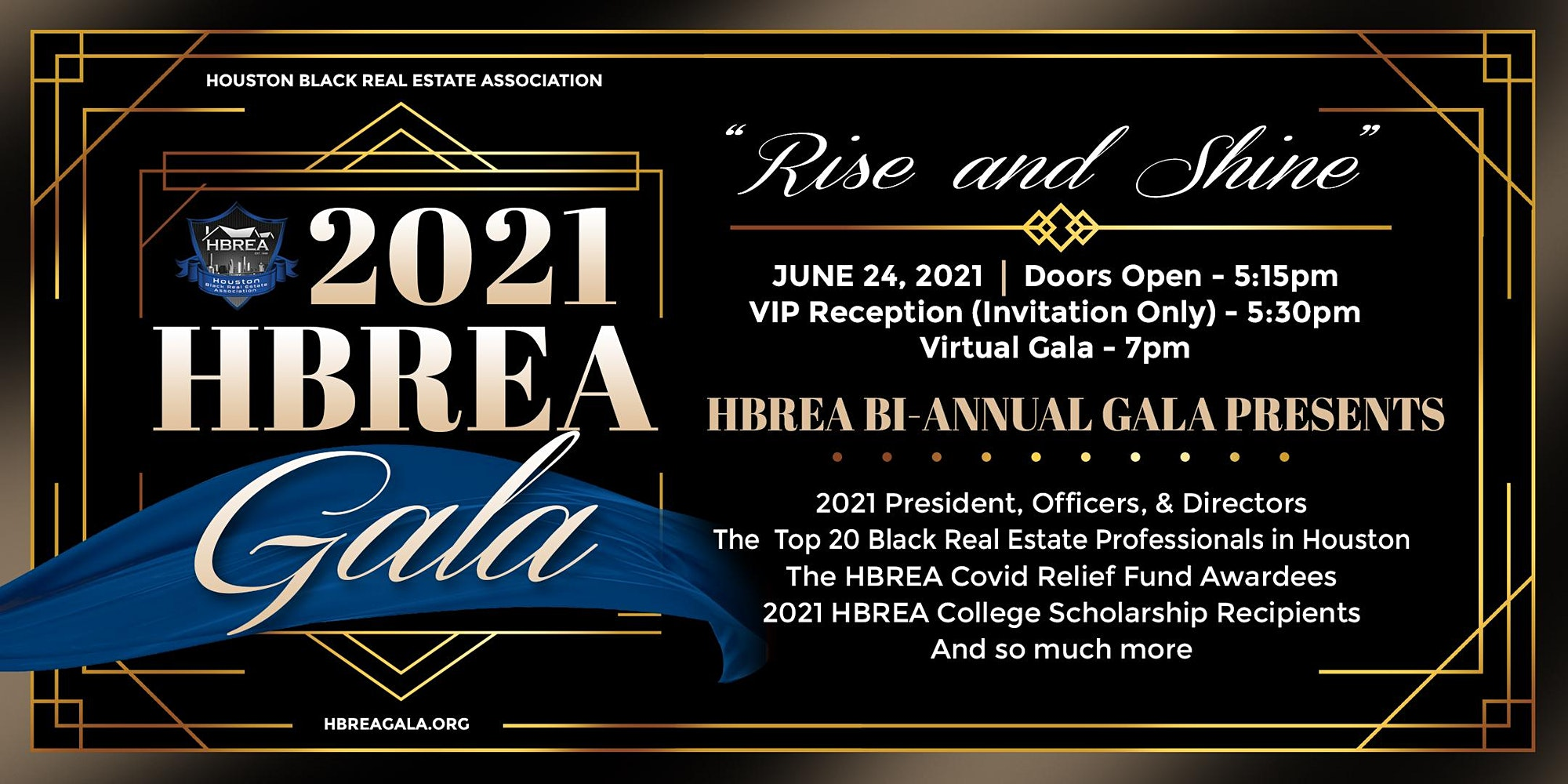 2021 HBREA Gala - Rise & Shine