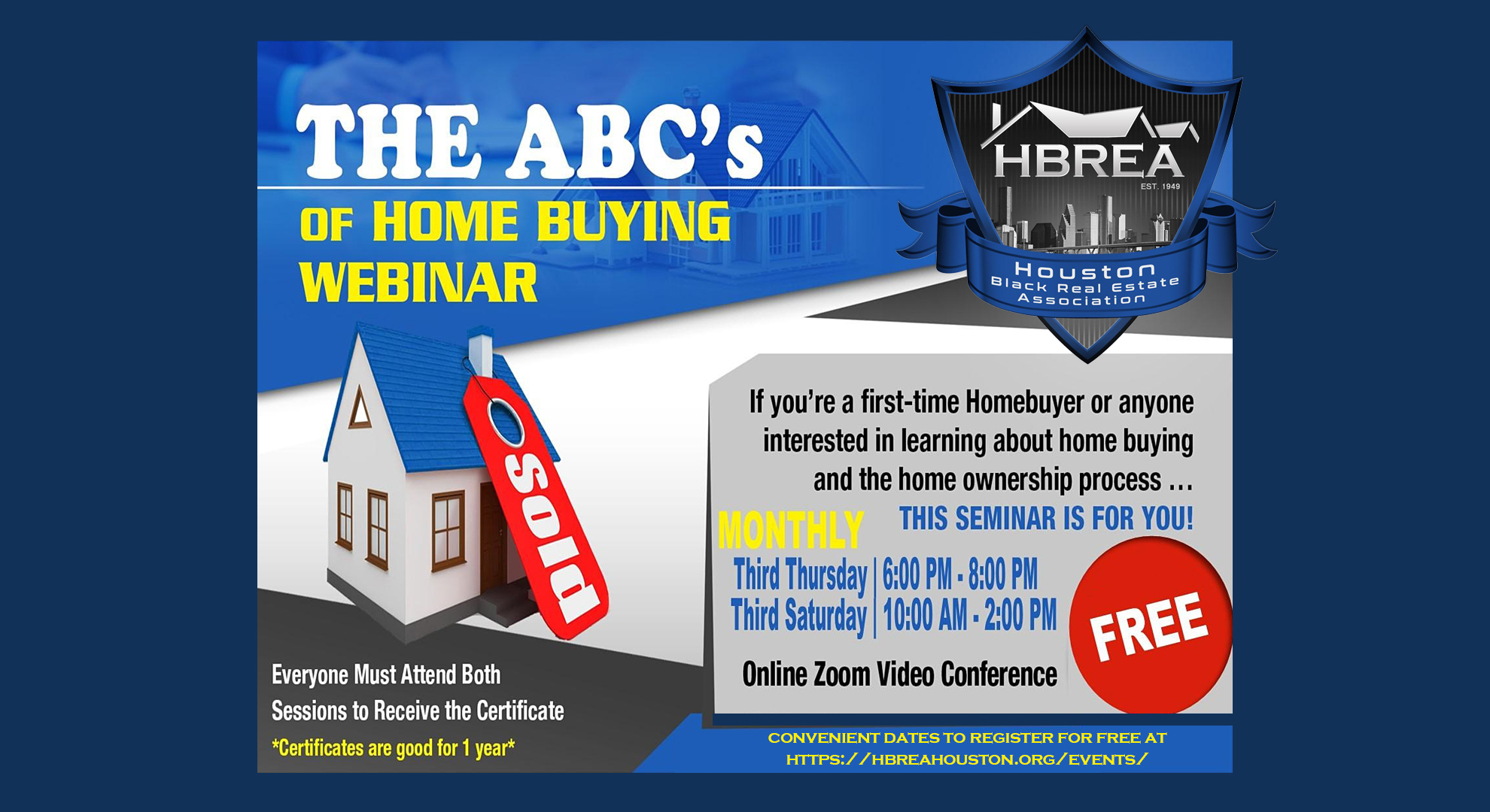 FREE ABC's of Home Buying Webinar