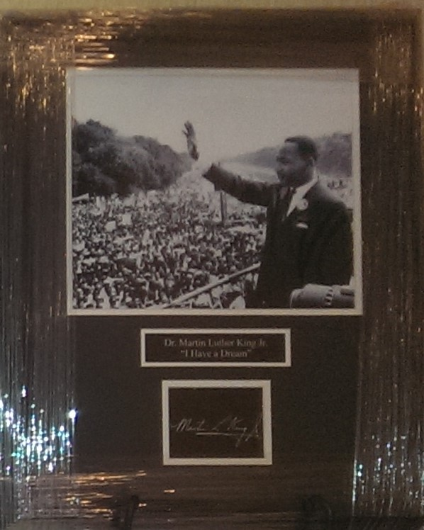 HBREA Gala Silent Auction item - Martin Luther King, Jr.