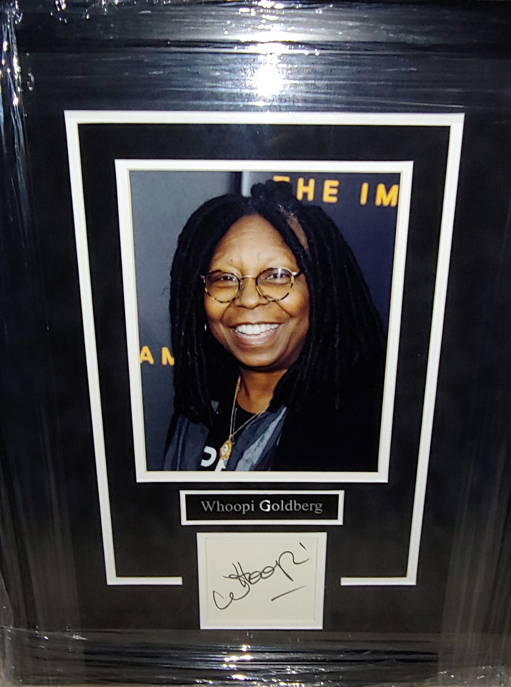 The HBREA 2021 Gala Auction Items - Whoopi Goldberg