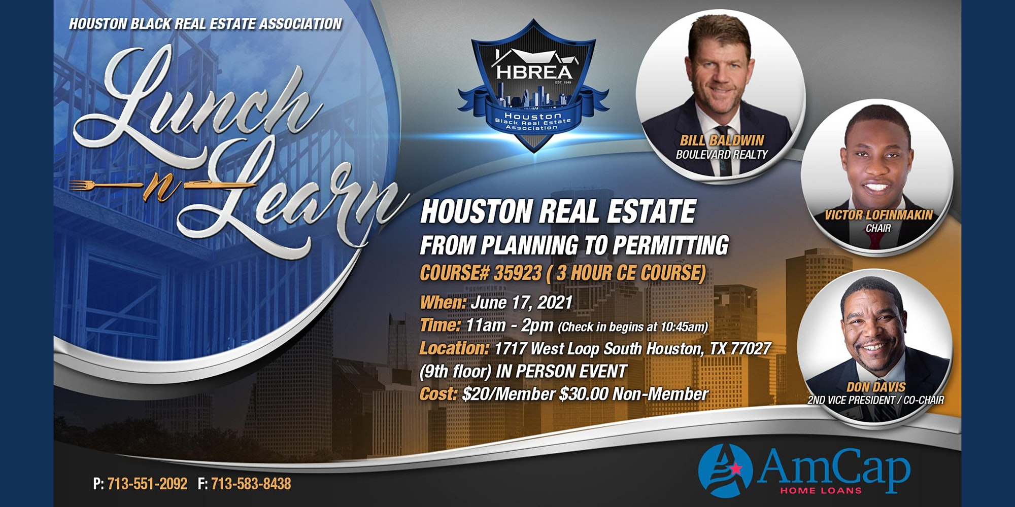 Houston Real Estate AmCap - From Planning to Permitting