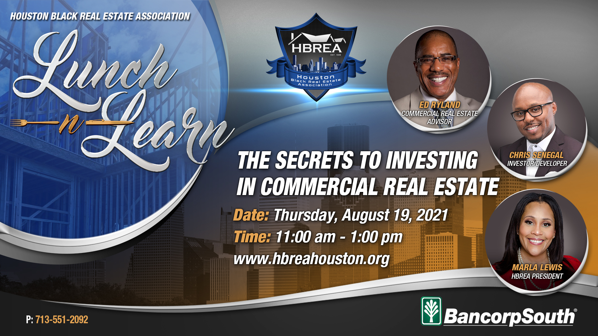 Lunch-n-Learn - The Secrets to Investing in Commercial Real Estate
