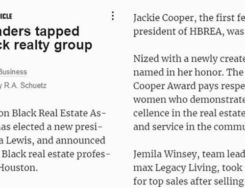 New Leaders Tapped for Black Realty Group