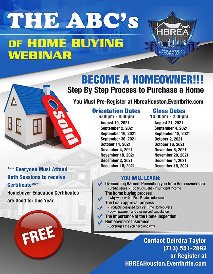 The ABC's of Homebuying Webinar